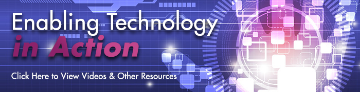 Enabling Technology clickable link to videos and resources